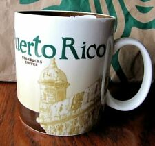 2011 Starbucks Puerto Rico Icon City Series Mug 16 Oz Tags