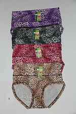 4 Stk. Damenslip Hipster Pantys Unterhose hoher Bund *NEU* Gr. XL