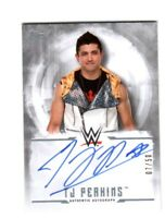 WWE TJ Perkins 2017 Topps Undisputed Silver On Card Autograph SN 7 of 50