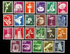 Germany Berlin Industry Issues of 1975 Complete Set 23 MNH Scott 9N359 to 9N376
