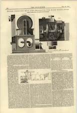 1884 Legno's Frantumatore separatore per le sostanze rigido Morris Doncaster