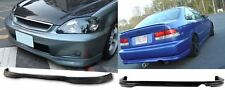 TR Urethane Front Bumper Lip Spoiler Body kit For 96-98 Honda Civic 2 4 Door