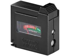 Batterietester - Display - Mignon AA, Micro AAA, 9V Block, Baby C, Mono D, LadyN