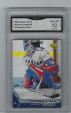 2005-06 HENRIK LUNDQVIST ROOKIE CARD GRADED GEM MINT 10 RANGERS
