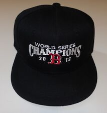 Boston Red Sox 2018 World Series Champions Black Baseball Hat