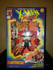 """New X-Men X-Force Deluxe Edition Shatterstar 10"""" Posable Figure Weapon Included"""