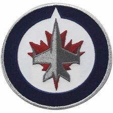 "Winnipeg Jets 3.5"" Logo Sew Ironed On Badge Embroidery Applique Patch"