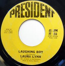 LAURA LYNN 45 Laughing Boy / It Took A Long Time Coming TEEN Popcorn 1967 w1363