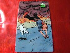 TRES RARE TELECARTE NEUVE - 20 Livres - Tintin au far west 9  - 500 exemplaires