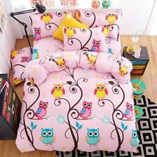 Owl Forest Bedding Set Doona Duvet Quilt Cover Set Pillowcases Single Queen King
