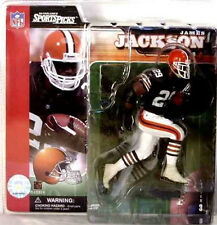 McFarlane Sports James Jackson NFL Series 3 Running Back Figure New