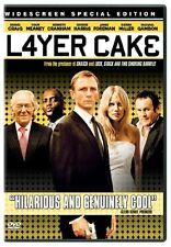 LAYER CAKE - BRAND NEW & SEALED DVD (DANIEL CRAIG, SIENNA MILLER, GEORGE HARRIS)