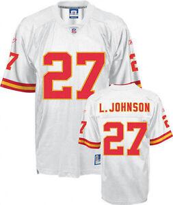 Larry Johnson Kansas City Chiefs Premier Jersey Reebok medium NWT NFL AFC new LJ