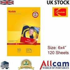 """6Pack: Kodak Glossy Photo Paper 6x4"""" 240gsm for All Inket Printers (120 sheets)"""