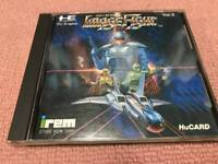 PC Engine video game  Image Fight  HuCard Japan Import USED