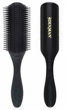 Denman Classic Styling Brush 9 Rows (Black) - Brand New