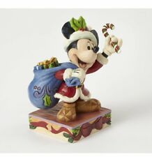 Jim Shore Disney Traditions By enesco mickey mouse Claus 4052002