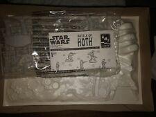 Star Wars Battle Of Hoth Model Set No Original Box *RARE*