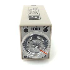 Temporizador H3Y-4 Omron 100-120VAC 5m H3Y-4-100-120VAC-5m