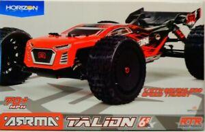 ARRMA 1/8 TALION 6S BLX 4WD BL Sport Performance Truggy w/Spektrum RTR ARA106048