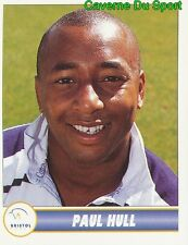 033 PAUL HULL ENGLAND BRISTOL RFC STICKER PREMIER DIVISION RUGBY 1998 PANINI