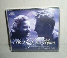 READERS DIGEST HOW HIGH THE MOON - FAVORITES OF THE 40s & 50s! NEW 4 CD SET