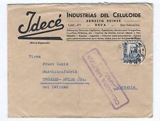 Cover A47 Spain 1939 machinery factory military censure
