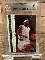 2003-04 Upper Deck Top Prospects #55 LeBron James Rookie Card BGS 9 Mint