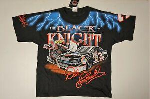 Vintage Dale Earnhardt Sr #3 The Black Knight All Over Print T-shirt - Large