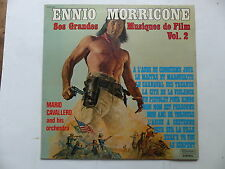 ENNIO MORRICONE Grandes musiques de films Vol 2 MARIO CAVALLERO Western indiENS