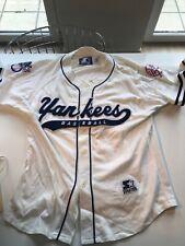 Vintage STARTER 90' YANKEES Baseball M Size Jersey,