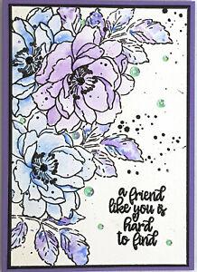 Handmade Card - A Friend Like You Is Hard To Find