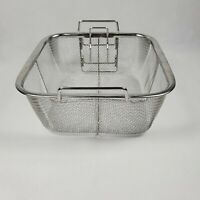 Copper Chef Fry Basket & Steamer for  Square Copper Chef Pan BASKET ONLY