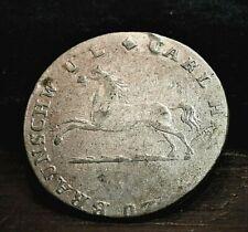 1825 German states Brunswick-Wolfenbuttel 1/12 Silver Thaler  (035)