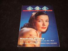 GENE TIERNEY 1995 AMC mag Rock Hudson, Doris Day, John Wayne, Orson Welles