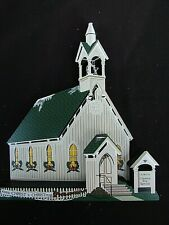 Shelia's Collectible Heartsville Town Square Church New Old Inventory Nib