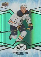 2018-19 Upper Deck Ice Hockey Green #32 Jack Eichel Buffalo Sabres