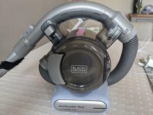 Black & Decker PD1820L-GB 10.8V Flexi Dustbuster Handheld Vacuum Cleaner used