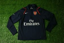 ARSENAL LONDON 2006/2007 FOOTBALL ZIP SWEATSHIRT SWEAT TRAINING NIKE ORIGINAL