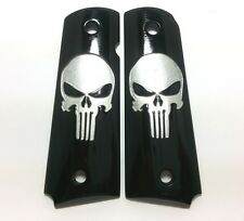 COLT 1911 GRIPS Custom Kimber Skull Punisher Fit For Full Size Handmade Resin
