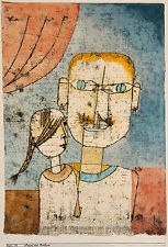 Paul Klee Reproduction: Adam and Little Eve - Fine Art Print