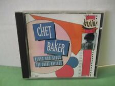 "Chet Baker,CD,Jasstime,""Plays And Sings The Great Ballads"",Canada,1992,Like New"