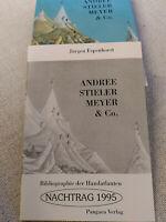 Andree Stieler Meyer & Co - Nachtrag 1995, von Jürgen Espenhorst, Handatlas