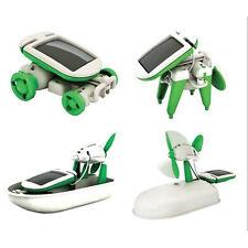 USD - 6 in 1 Solar DIY Educational Kit Toy Boat Fan Car Robot ME