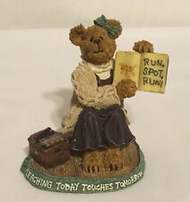 """Boyds Bears & Friends """"Miss Appleton Story Time"""" #228432 Used"""
