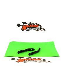 1 par calandra radiador protección Radiator cover Kawasaki kxf 250 2013-Verde