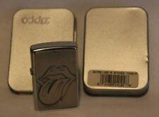 2002 Rolling Stones Emblem Logo Zippo Lighter 207RS Surprise Trick 3D Embossed