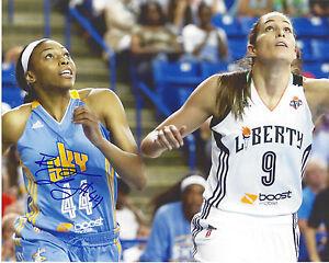 BETNIJAH LANEY Signed 8 x 10 Photo WNBA Chicago Sky Basketball RUTGERS