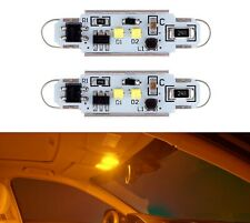 Led Light Canbus Error Free 562 6w Orange Amber Two Bulbs Interior Dome Replace