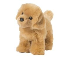"Douglas Chap GOLDEN RETRIEVER 10"" Plush Stuffed Puppy Dog Cuddle Toy NEW"
